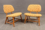 A pair of lounge chairs, TeVe Chair, Alf Svensson (2)