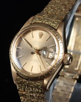 Rolex Oyster Perpetual Datejust. Dameur i 18 kt. guld