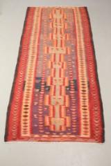 Harsin Kilim tæppe, 330 x 150 cm.