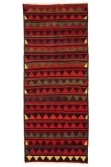 Nordvest persisk Kelim, 307 x 126 cm.