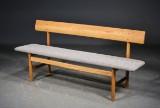 Børge Mogensen. Oak bench, model 3171