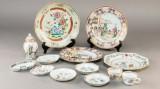 Samling kinesisk eksport porcelæn 1700 tallet (13)