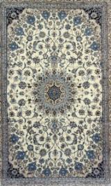 Persisk Nain m/ Silke, 6 La, 303 x 205 cm.