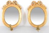 Gustavianska spegellampetter, ett par (2)