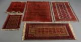 Samling afghanske og persiske tæpper, 20. årh. (5)