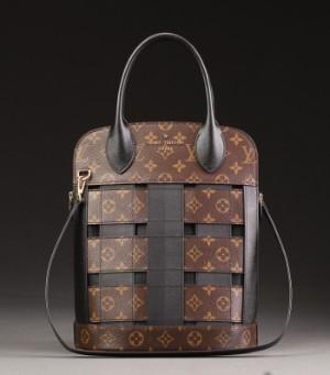 75ad2b22e687 Louis Vuitton. Tressage Tote monogram taske