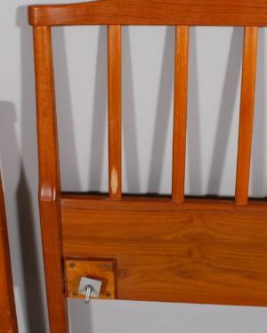 Inredning sänggavlar carl malmsten : Lot: 2957683 Carl Malmsten sänggavlar 'Aveny' teak (4)