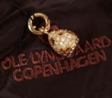 Ole Lynggaard. 'Sweet Drops' charm, 18 kt. red gold with diamonds