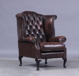 Chesterfield wingchair/ øreklapstol