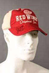 Signerad keps av Henrik Zetterberg, Detroit Red Wings
