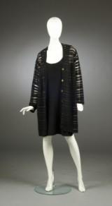 Yves Saint Laurent, cardigan samt kjole, str. 40/42 (2)