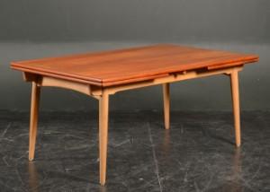 Lot 3597727 Hans J Wegner Dining Table Oak Teak Andreas Tuck Model A