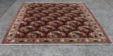 A Persian rose bidjar carpet, wool on cotton, 366 x 240 cm