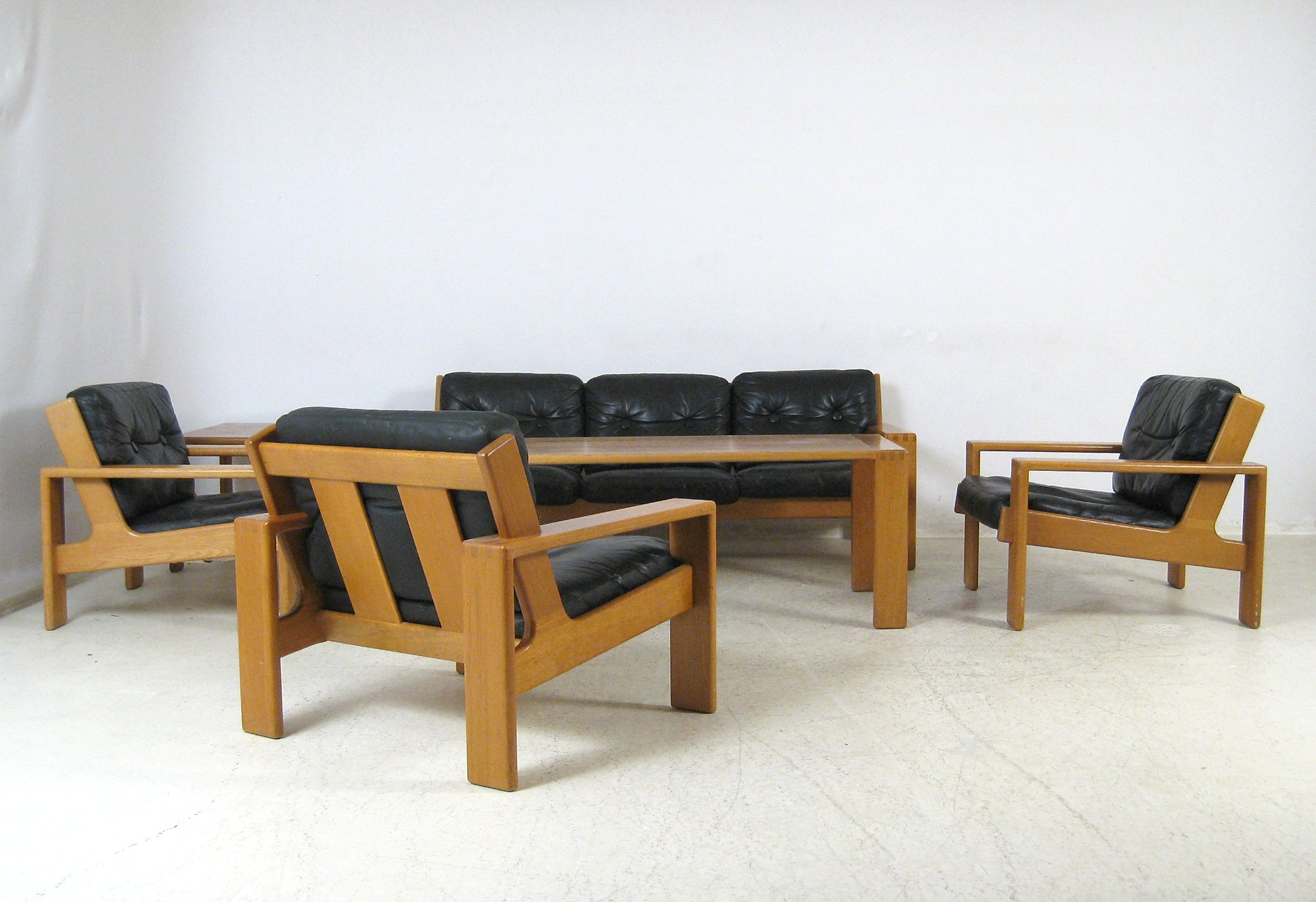 Dreier Sofa auktionstipset lounge suite modell bonanza dreier sofa set