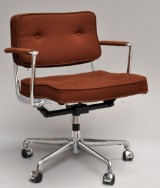 Charles & Ray Eames. Rarely offered office chair, model ES 102, from Herman Miller. 1968-1972