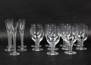 Slutpris för Holmegaard. Amager glas, model Twist