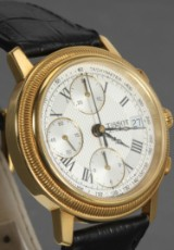 Tissot watch, 18kt. gold with chronograph