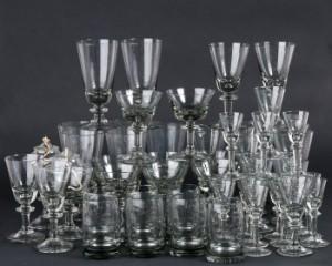glas samling krystalglas hadeland glassverk norge tangen antik gr ca 51. Black Bedroom Furniture Sets. Home Design Ideas