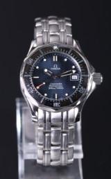 Omega Seamaster Professional 300m damearmbåndsur af stål