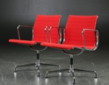 Charles Eames. Pair of armchairs, model EA-108 (2)