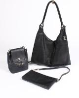 DKNY samt Paloma Picasso, tasker, sort skind (3)