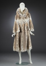 Fur coat, lynx, size 38