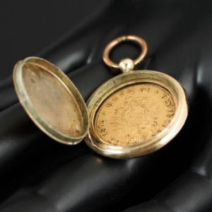 Medaillon Mit Münze 10 Mark Deutsches Reich 1875 Lauritzcom