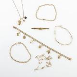 Armband halskedjor 18 k guld