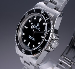 Nye og brugte herreure - Rolex, Cartier, Omega, Breitling - Rolex 'Submariner No Date'. Herreur ...