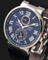 Ulysse Nardin 'Maxi Marine Chronometer'. Men's watch, steel, with power reserve