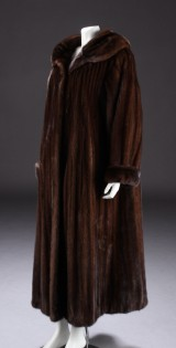 Ole B. Christensen, coat, brown mink