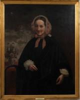 Ramon Torres Mendez. Portræt af kvinde. Olie på lærred.
