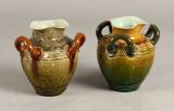 Höganes, par vaser, lertøj, 1800-tallet (2)