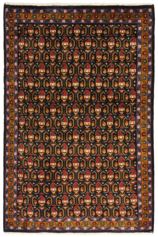 Persisk Tabriz tæppe, 153x100 cm - Persisk Tabriz tæppe, uld på bomuld. 153x100 cm