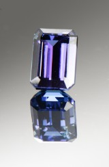 A loose tanzanite, approx. 18.79 ct, GIA certified