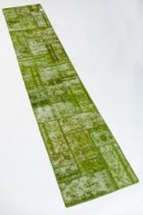 Kelim, design 'Revive Vintage Patch' fremstillet hos Loomier, ca. 401 x 76 cm