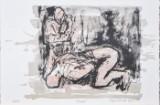Tine Hind, litografi, 'Prayer'