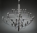 Gino Sarfatti 1912-1985. Lysekrone, model 2097/30