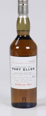 Port Ellen Whisky. Annual release. Diageo. Destilleret 1978, Bottled 2002.
