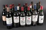 Ældre vinsamling. Samling med 18 flasker (18)
