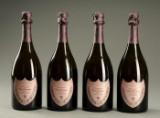 4 fl. Dom Pérignon Moét & Chandon. Rosé Champagne  (4)