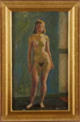 Gustav Rudberg oljemålning