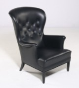 Frits Henningsens. Heritage Chair, high-backed lounge chair, Model FH420