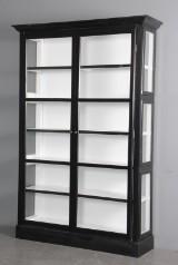 Display cabinet, black paint