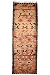 Nordvest persisk Kelim 542 x 190 cm.