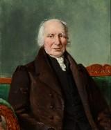 C. A. Jensen, oil on canvas, portrait of Peter Johann Timm
