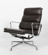 Charles Eames. Soft Pad lounge chair, Model EA-216 from Herman Miller