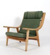 Hans J. Wegner. High-backed easy chair, model GE-530