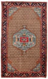 Persisk handknuten matta, Koliaei/Kurd mått 284x162 cm