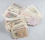 Samling sedlar, merparten Tyskland